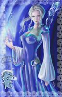 Ice Queen Wynne by Elistraie