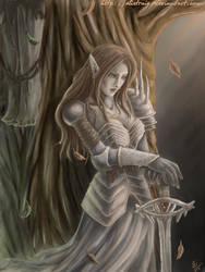 Aribeth's Grief by Elistraie