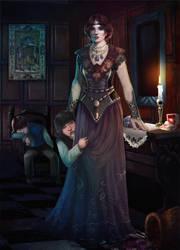 Vampire Lullaby by Elistraie
