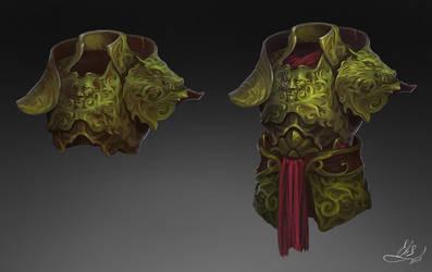 Jade Armor by Elistraie