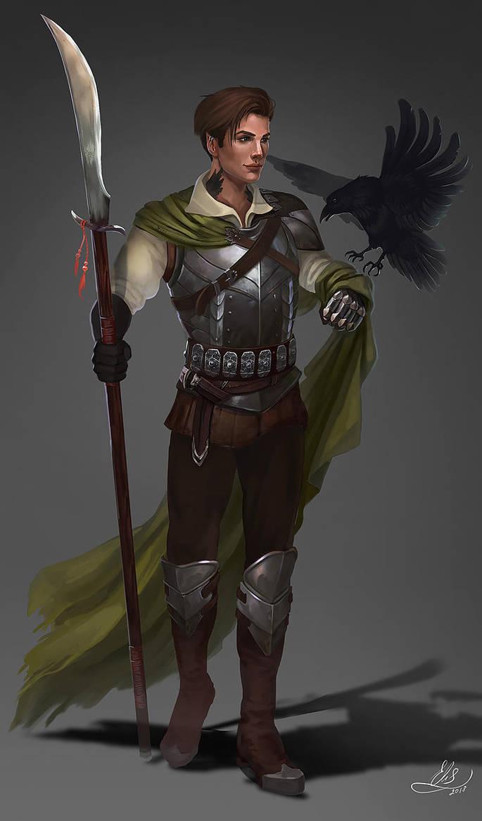 Glave warrior concept by Elistraie