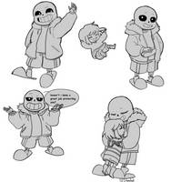 more sans. by sheebal