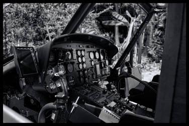 Huey Cockpit by Markuk61