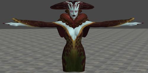 Echidna the She-Viper (WIP) by Rabbid013