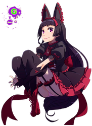 Rory Mercury --- GATE by Gunscold