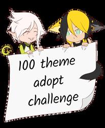 [Open] 100 theme challenge by DanteKizu