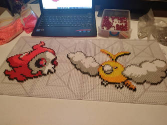 Shiny Duskull Swablu by Gr8Beads