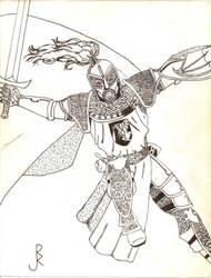 Sir Perrin by ArtDewd