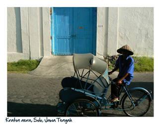 Near the Kraton of Surakarta (Solo) by Peacefull