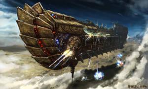 Ulysses Spaceship by M-Wojtala