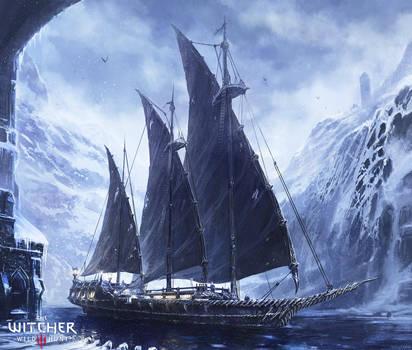 Witcher 3 : Naglfar by M-Wojtala