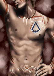 Connor is too sexy for a shirt by Fratellanza