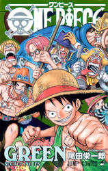One Piece Green-Front Cover MQ by LorenXx
