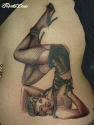 Miss Mosh PinUp Tattoo by tordah
