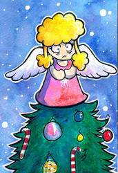 Lucy Lolly up your tree by MableTheRabbid