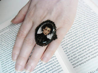 Edward Scissorhands cameo ring by MySicknessRomance