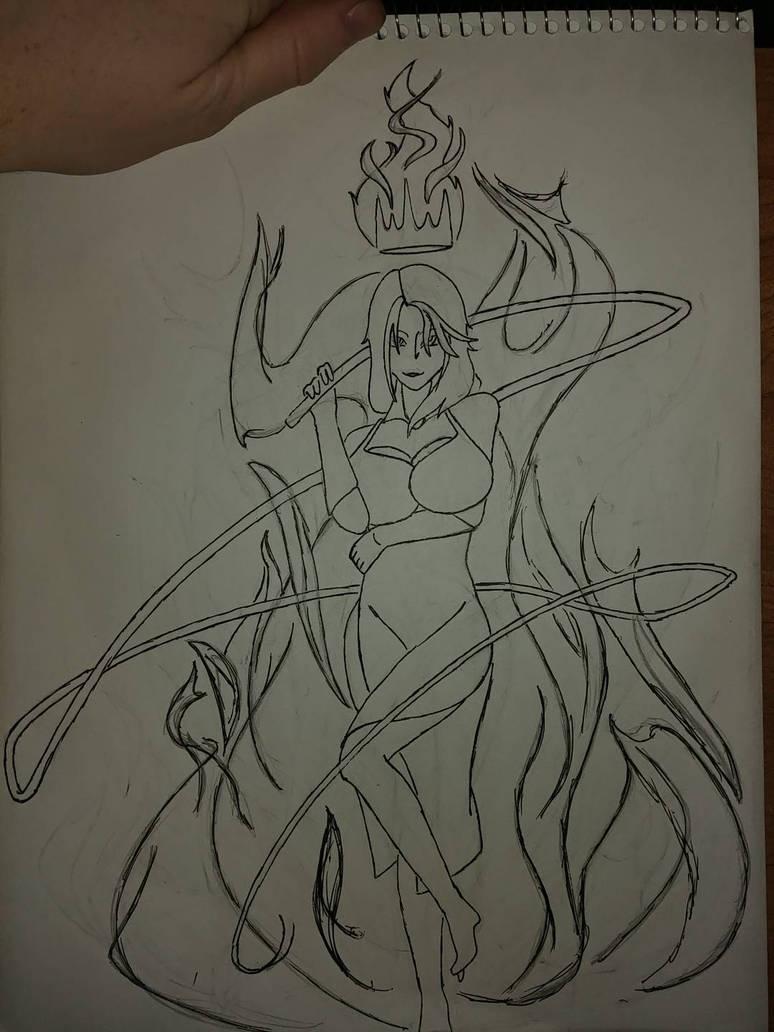 Cinder, Dancer Queen of Fyre by SoulSuckingGinger