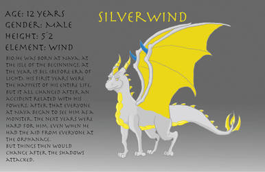 Silverwind Reference Sheet by Draconet