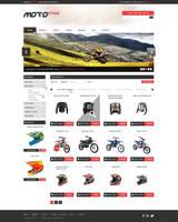 web design - MotoStick by Shizoy