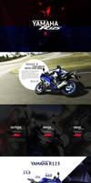 Landing Page - Yamaha R125 by Shizoy