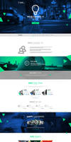 web design - Tilko ( company ) by Shizoy
