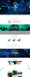web design - Tilko ( company ) by Shizoy