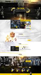 web design - NFL concept site by Shizoy