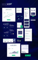 KipUp UI kit of 15 elements by Shizoy