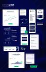 KipUp UI kit of 15 elements by Shizoy