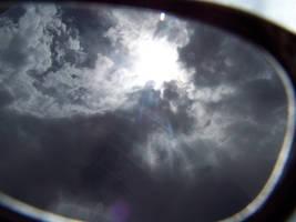 Polarized sky by Wintergreenmints