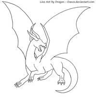 FREE Blank Dragon Base by DansuDragon