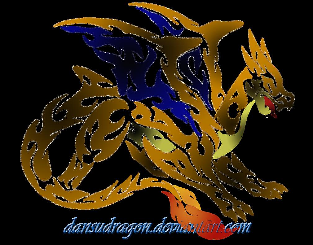 Art Dragon Tribal Lucario Head Wwwtollebildcom