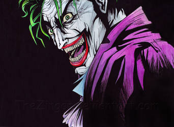 The man who laughs... by TheZingar