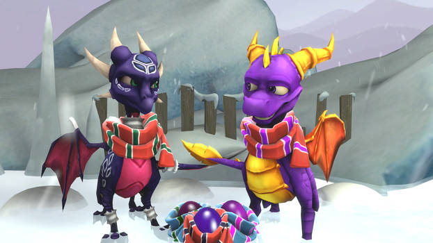 SFM The Legend of Spyro: DoTD 'Chilly Expedition' by left4deadify