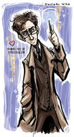 The 10th Doctor -EDIT- by SpookyChan