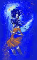 Dead in Blue -Sith- Dead Girl by SpookyChan