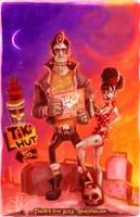 Tiki or Bust by SpookyChan