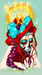 Good God - Lady of Death by SpookyChan