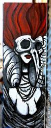 Skull Girl - Bushwick Brooklyn NY by SpookyChan