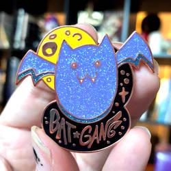 BAT GANG enamel pin by SpookyChan
