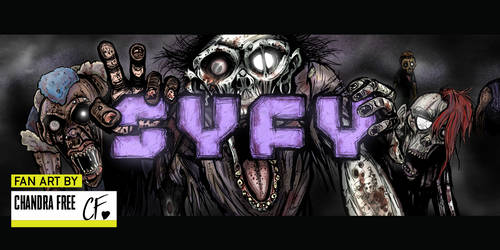 SYFY ZOMBIES by SpookyChan