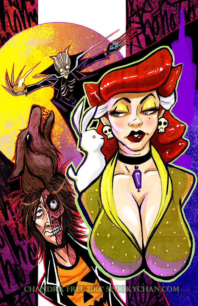 HalloweenMan Cover - Hallowtide Part 2 by SpookyChan