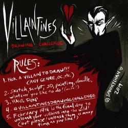 #VillaintinesDrawingChallenge by SpookyChan