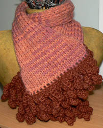 Knitted scarf by Chookums