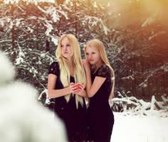 White sisters by lightlanaskywalker