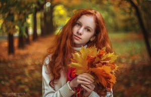 Autumn leaves II by lightlanaskywalker