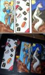 completeled bookmark set by Akkai