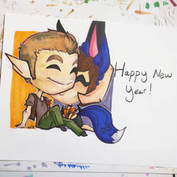 Happy New Year by Akkai