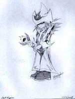 Silent Magician by kiuuri