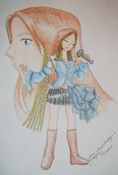 Songstress Summoner by kiuuri